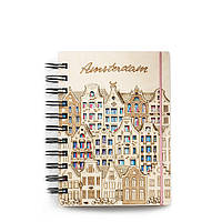 """Блокнот скетчбук """"Амстердам"""" с разноцветным внутренним блоком, фото 1"""