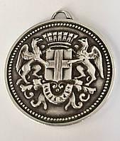 Серебряный Дукат/Дукач (монета-подвеска)