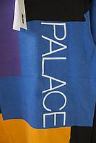 Свитшот Palace Blue/Black/Yellow (ориг.бирка), фото 3