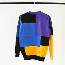 Свитшот Palace Blue/Black/Yellow (ориг.бирка), фото 2