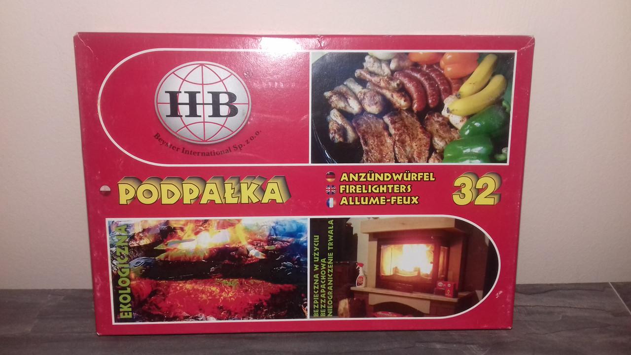 Подпалки для камина и печи  (32 шт)
