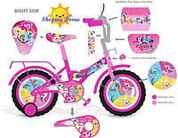 Детский двухкалесный велосипед д 12 Pony