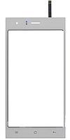Тачскрин (сенсор) для Nomi i500 Sprint, цвет белый