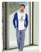 Пижама мужская (домашний костюм) S/M (46-50р).