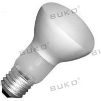 Лампа накала рефлекторная R63 60W BUKO
