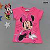 Футболка Minnie Mouse для девочки. 2-3;  6-7  лет