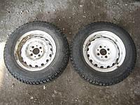 Диски колесные ВАЗ 2106 + шины 175 70 R13 пара 2шт Тунга Нордвей