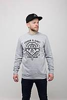Свитшот мужской кофта DEPT MEL Urban Planet (свитшоты, чоловічий світшот, толстовка, мужская одежда, одяг)