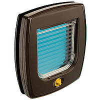 Ferplast (Ферпласт) SWING 3 - откидные двери для собак и кошек,коричневыее
