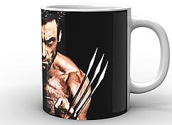 Кружка белая GeekLand Росомаха Wolverine WV.02.001