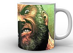 Кружка белая GeekLand Росомаха Wolverine angry WV.02.005