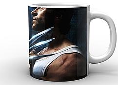 Кружка белая GeekLand Росомаха Wolverine alone WV.02.002