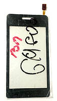 Сенсор (тачскрін) для LG GM600 чорний