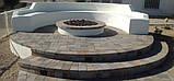 Облицовка натуральным камнем Песчаником вокруг Дома, Укладка тротуарной Плитки в Харькове, фото 9