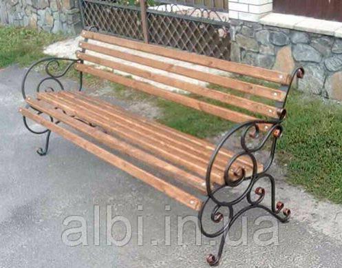 Кованый стул Надежда 0,5м