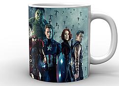 Кружка белая GeekLand Мстители Avengers mstiteli era altrona AG.02.002