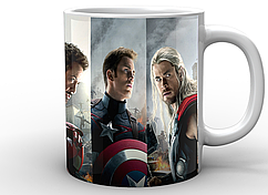Кружка белая GeekLand Мстители Avengers Мстители AG.02.001