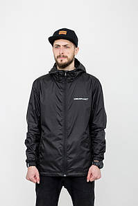 Куртка мужская черная ветровка Urban Planet RS4 BLK размеры XS S M L XL XXL