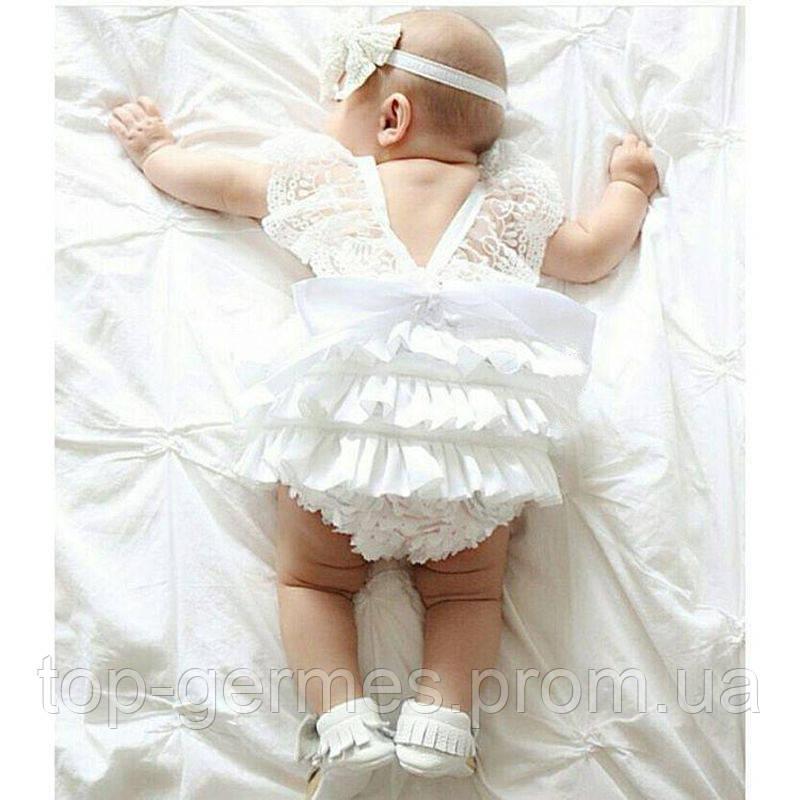 Комбинезончик для новорожденной