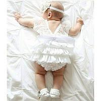 Комбинезончик для новорожденной, фото 1