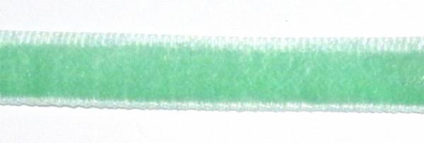 Лента бархатная 10 мм, темная мята