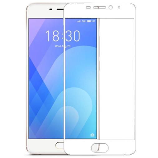 Защитное стекло 3D White для Meizu M6