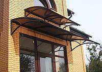 Козырьки на окна металлические, фото 1