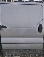 Дверь боковая сдвижная, правая раздвижная, Серая, 7751472220 на Opel Vivaro, Renault Trafic, Nissan Primastar, Рено Трафик, Опель Виваро, Ниссан