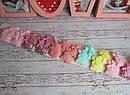 Детские заколки уточки для волос Китти 4,5*4 см блестящая 20 шт/уп, фото 4