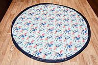Плеймат Самолеты и парашюты 150 см  (игровой коврик-трансформер, мешок для игрушек)