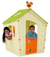 Будинок для дітей MAGIC PLAYHOUSE кремовий-світло-зелений (Keter)