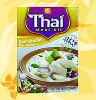 Набор  для приготовления тайского супа Том Кха,Thai Meal Kit, Том Kha, 57,6г, Фо