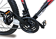 """Горный велосипед SPARTO TN 7329  29""""  Черный/Красный, фото 7"""
