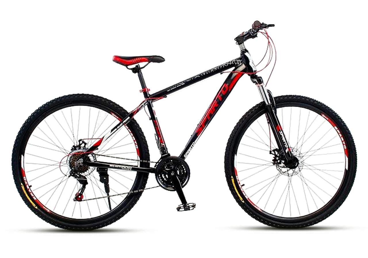 """Горный велосипед SPARTO TN 7329  29""""  Черный/Красный"""