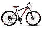 """Горный велосипед SPARTO TN 7329  29"""",18""""  Черный / Красный"""