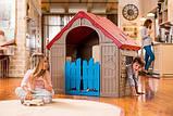 Будиночок FOLDABLE PLAY HOUSE червоно-бежевий-синій (Keter), фото 2