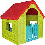 Будиночок FOLDABLE PLAY HOUSE червоно-бежевий-синій (Keter), фото 4
