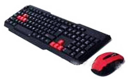 Беспроводная клавиатура + мышка USB W1080!Акция, фото 2