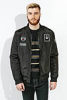 Куртка мужская на змейке 616K002-3 (Черный)