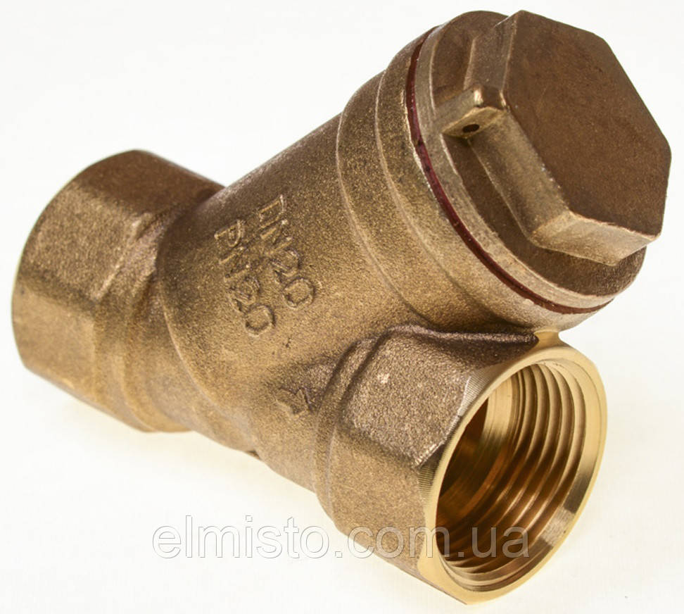 """Фильтры 3/4""""В Ду20 (Укр) резьба, грубой очистки жидкости и газа от мех. частиц"""