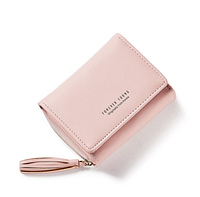 Небольшой кошелек женский розовый код 264