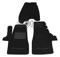 Текстильные коврики черные для Volkswagen Transporter (1 row)(T5) 2003-2014