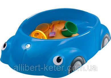 Пісочниця BEETLE синя (Keter)