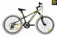 "Велосипед Mascotte Team 24"" черно-желтый, фото 1"