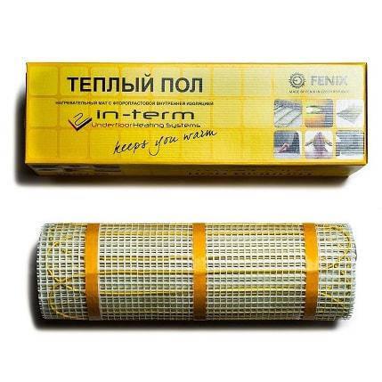 Нагревательный мат In-Therm 1580Вт/м (7.9 м.кв), (керамика)