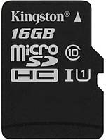 Карта памяти Kingston microSDHC 16Gb Canvas Select U1 (R80/W10)