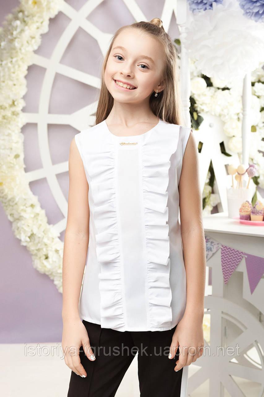Школьная блуза для девочки sh-59