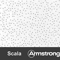Плита потолочная Armstrong  Scala board 600*600*12мм (70% влагост)