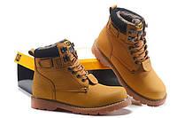 Мужские ботинки Caterpillar Second Shift Boots Yellow