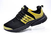 Беговые кроссовки в стиле Nike Air Presto, Black\Gold